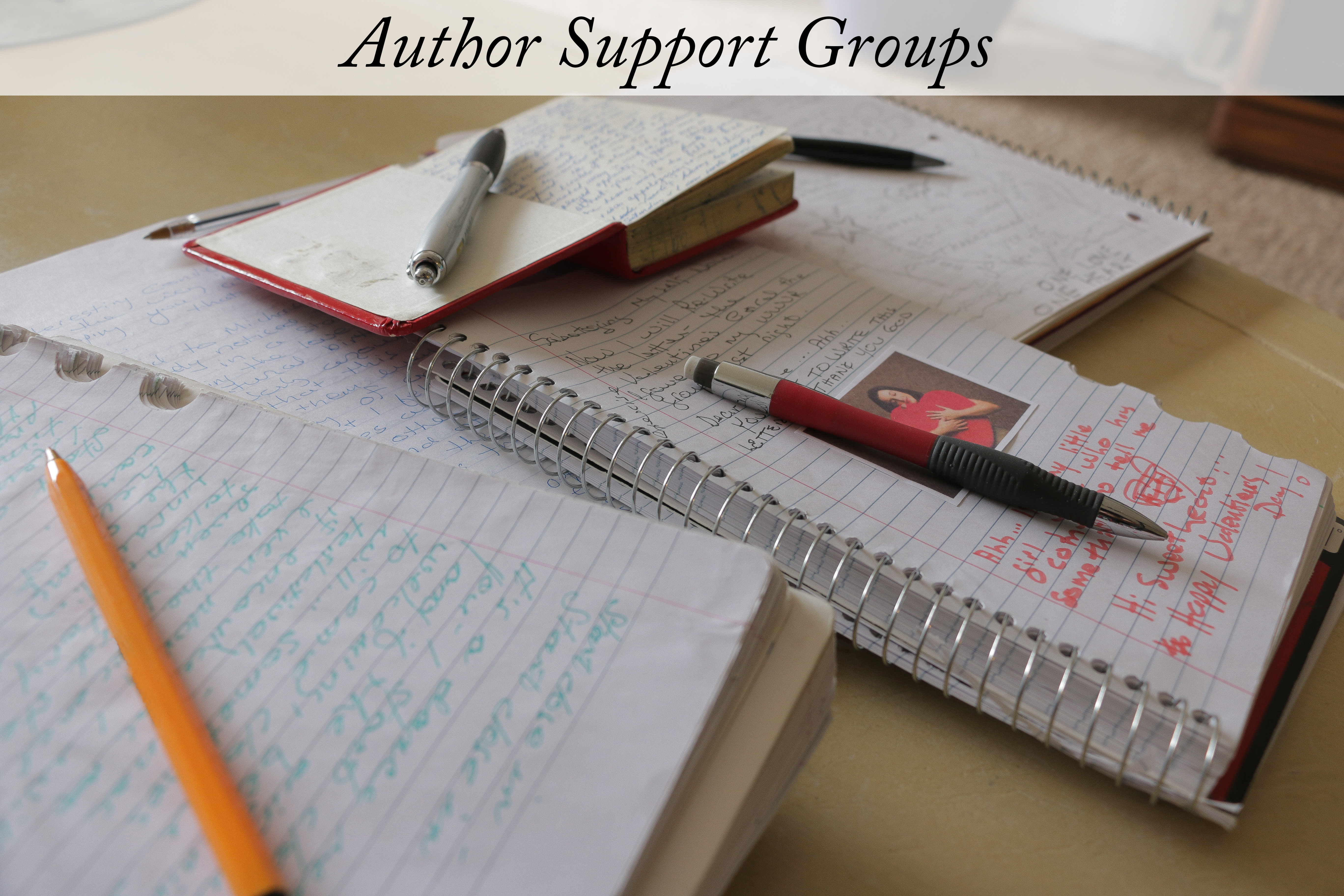 Authors Support Group Faded title