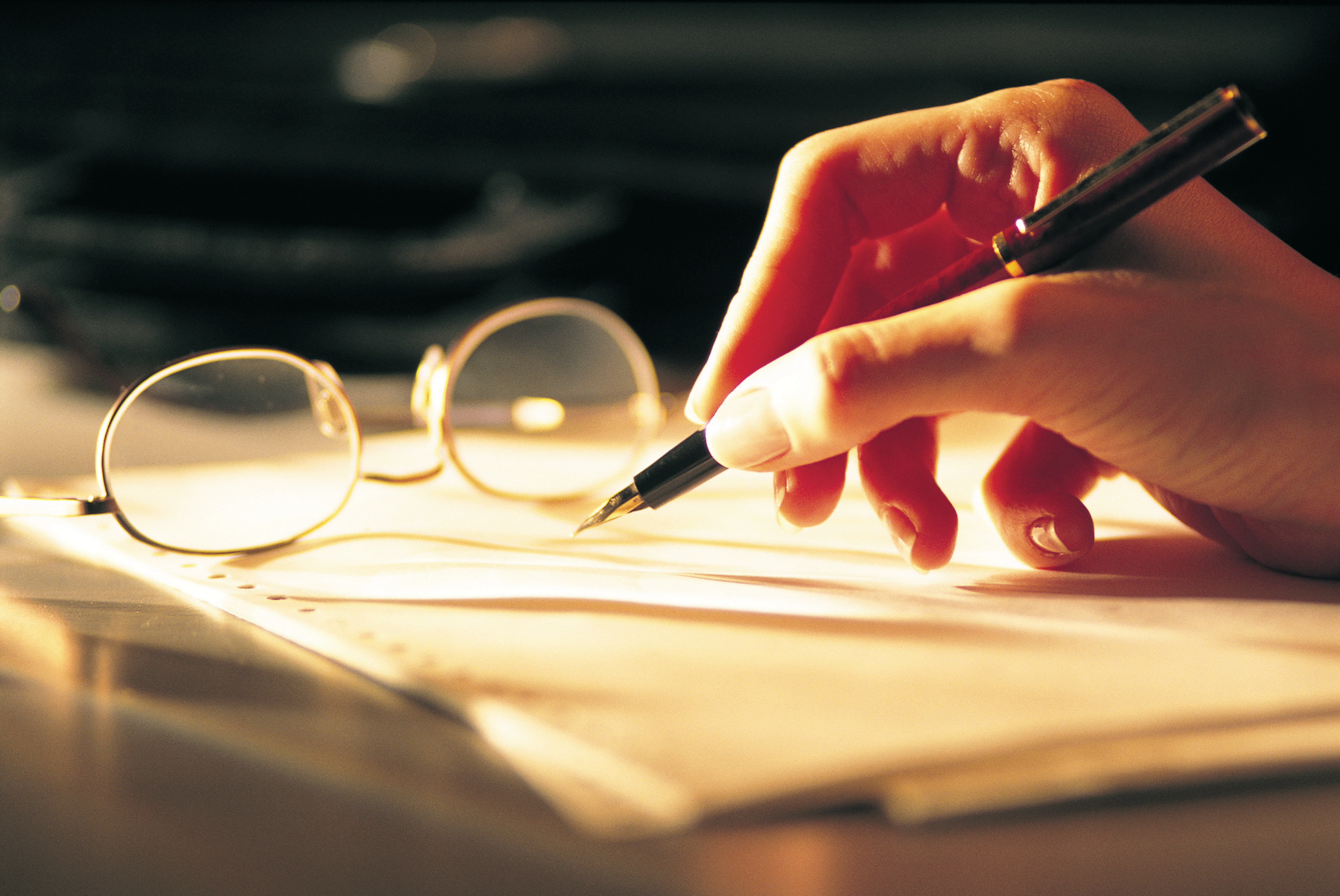 writing-glasses