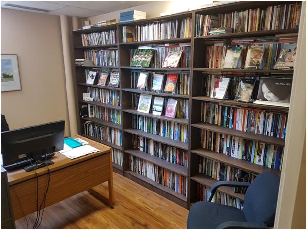 Craig Shemilt's bookcase