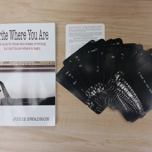 Write Where You Are card deck
